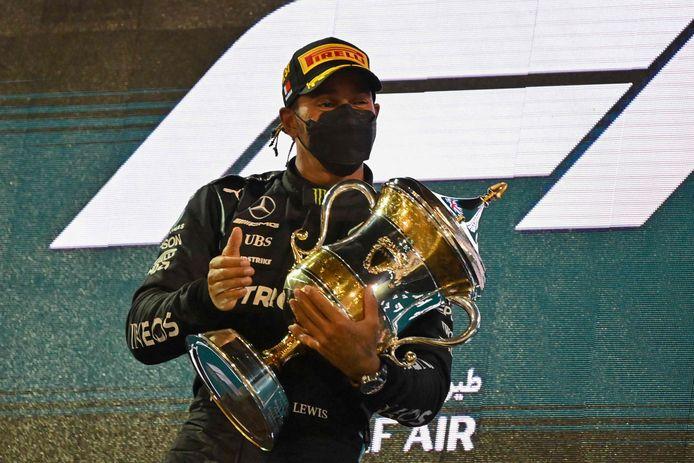 Hamilton triomfeert.