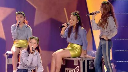 Met deze groepsact begonnen de acht finalisten aan 'The Voice Kids'