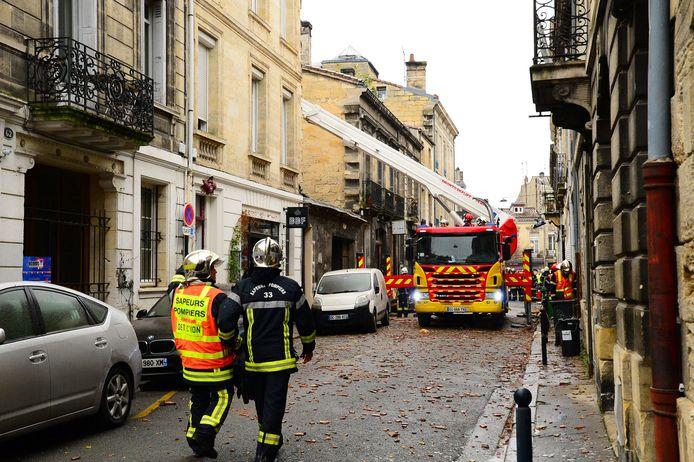 De zware explosie bracht heel wat schade en vernieling met zich mee.