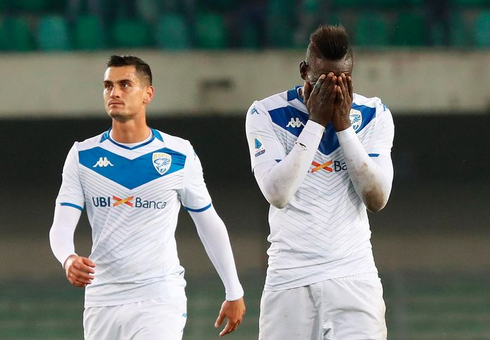 Mario Balotelli werd tijdens het duel in Verona racistisch bejegend.