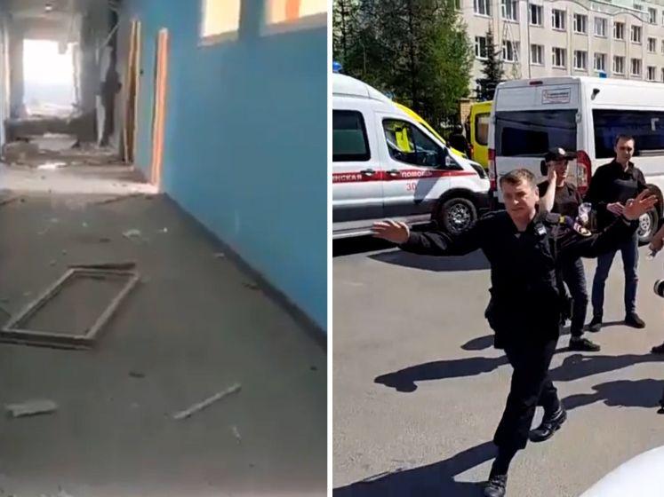Schietpartij school Rusland: leraar en zeven leerlingen dood