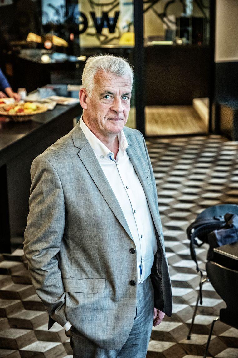 Walter De Donder: 'Het grote pijnpunt is bij CD&V: de stem van de basis wordt niet gehoord aan de top.'  Beeld Tim Dirven