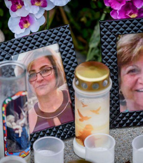 Almelo bewijst Zonund (70) en haar nicht Maral (52) laatste eer; zij werden slachtoffer van de kruisboogschutter