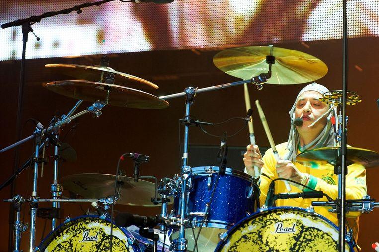 Drummer Alan 'Reni' Wren. Beeld getty