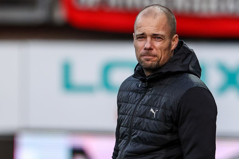 FC Groningen-trainer Danny Buijs: 'Mijn spelers zijn ook maar mensen. Het zijn geen robots.' Beeld BSR Agency
