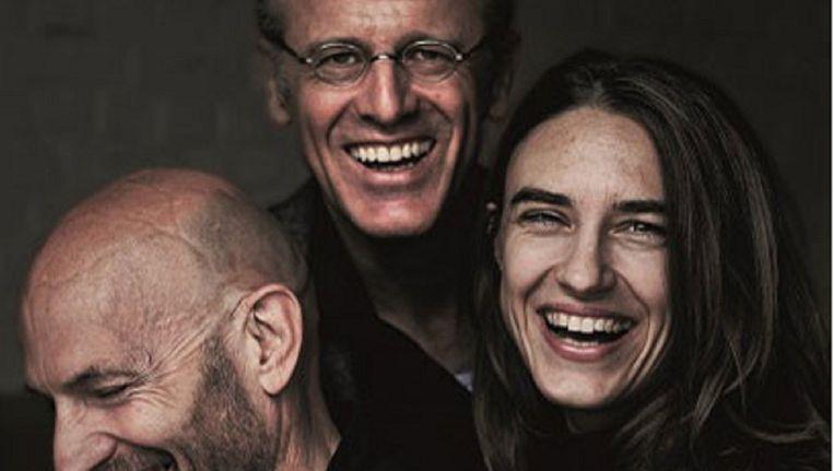 Natali Broods, Peter Van den Eede en Willem de Wolf in 'Beckett Boulevard'. Beeld Karoly Effenberger