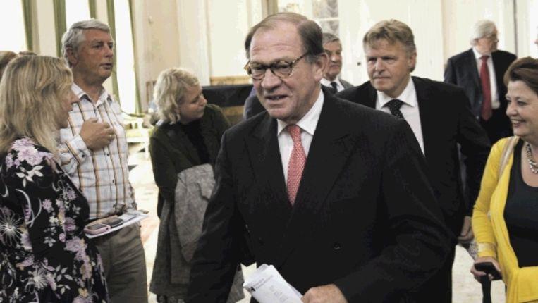 Commissaris der Koningin in Noord-Holland, Harry Borghouts (Trouw) Beeld ANP