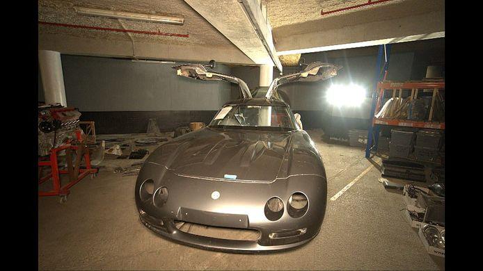 Een Bristol-sportwagen.