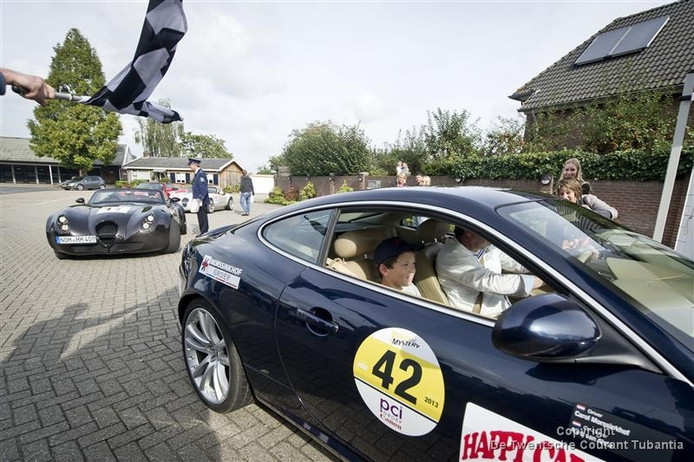 In 2013 startte de Happy Car Kids rally in Goor