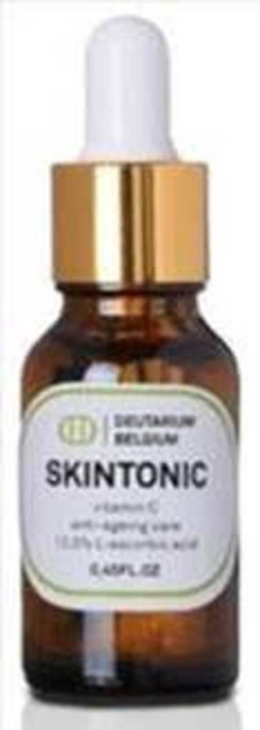 SKINTONIC - Sérum anti-âge à la vitamine C - Disponible chez Beauty By Kroonen - Prix: 99 euros.