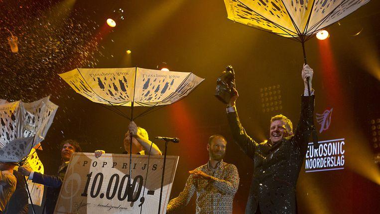Racoon wint de Popprijs 2012 Beeld ANP