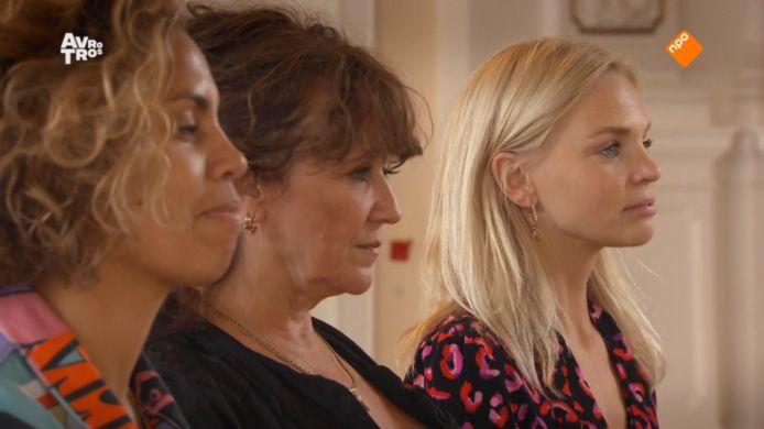 De drie finalisten van het 21ste seizoen van Wie is de Mol?: Rocky, Renée en Charlotte.
