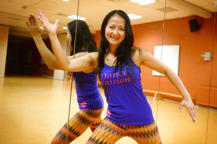 Dansdocente Pricilla Ye.