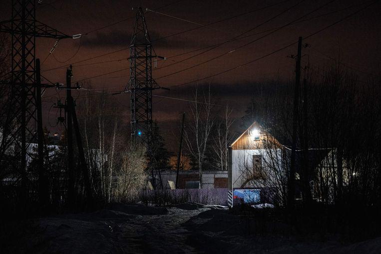 Kolonie N2, bij nacht. Beeld AFP