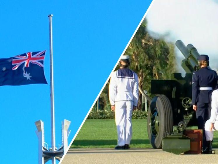 Australië herdenkt Prins Philip