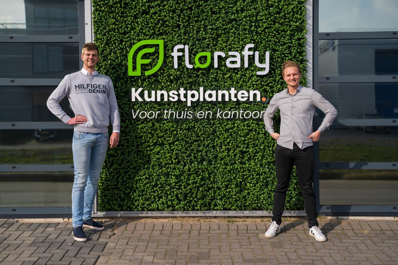 Merijn Raaphorst (l) en Robert van der Leeuw (r)