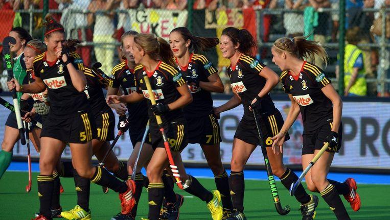 De Belgen waren duidelijk een maatje te sterk voor de Ieren Beeld PHOTO_NEWS