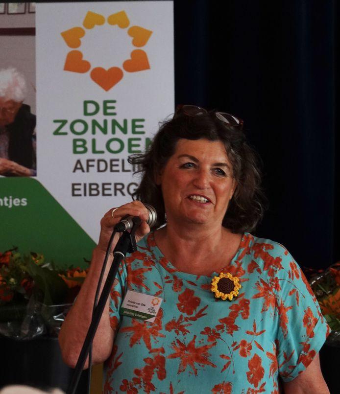 Frieda van Enk, voorzitter Zonnebloem Eibergen