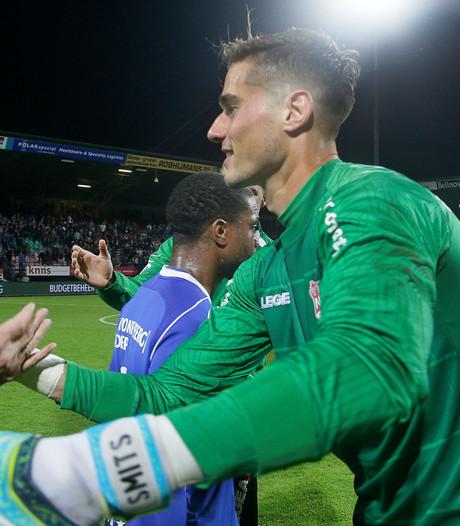 NEC-doelman Joshua Smits op weg naar Almere City