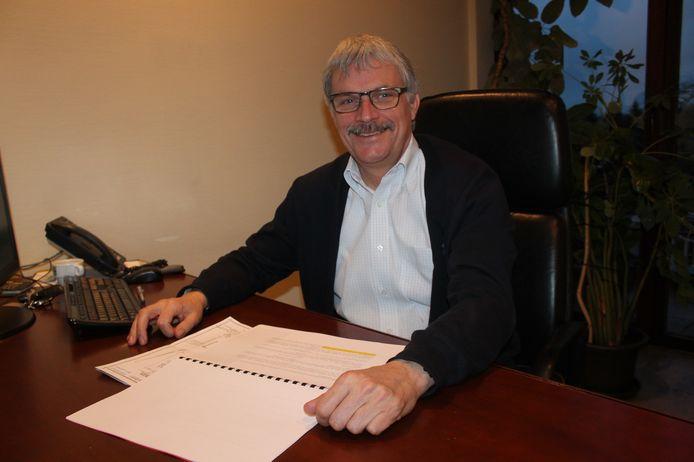 Wim Goossens, burgemeester van Roosdaal.