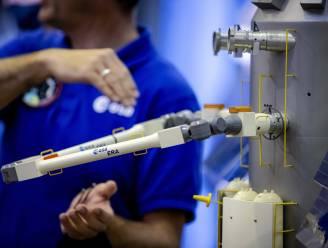 Nederlandse robotarm na reis van een week aangekomen bij ruimtestation ISS