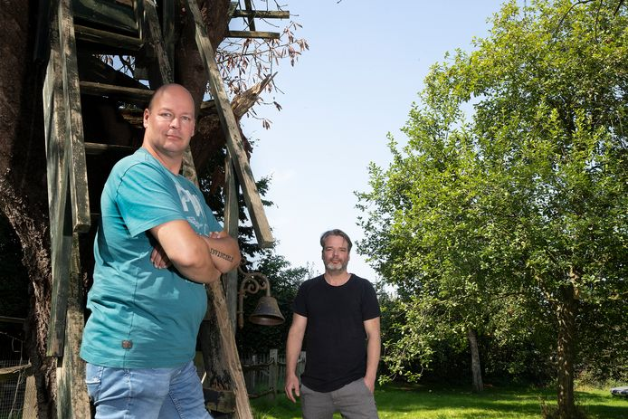 Erik Krikke (links) en Bas Rysavy van de band 7even Bridges.