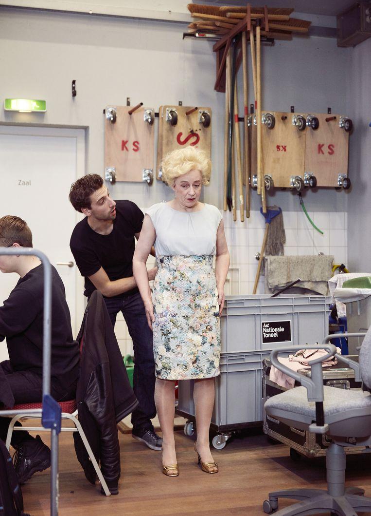 Actrice Antoinette Jelgersma. Beeld Erik Smits