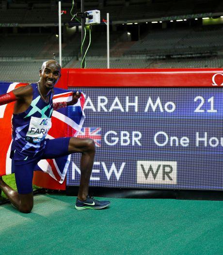 Mo Farah bat le record du monde de l'heure pour son grand retour sur la piste