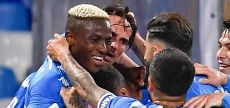 Napoli boekt belangrijke zege in strijd om CL-ticket en drukt Juventus verder in de problemen
