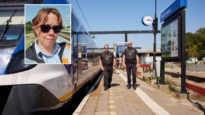 Erika bewaakt spoorovergang: 'Heb hem de huid vol gescholden, dag erna kwam hij sorry zeggen'