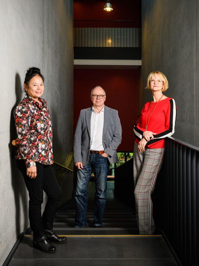 Bij Factorium nemen Agaath Verspeten,  Peter van Dorst afscheid en Karen Broekhuis afscheid.