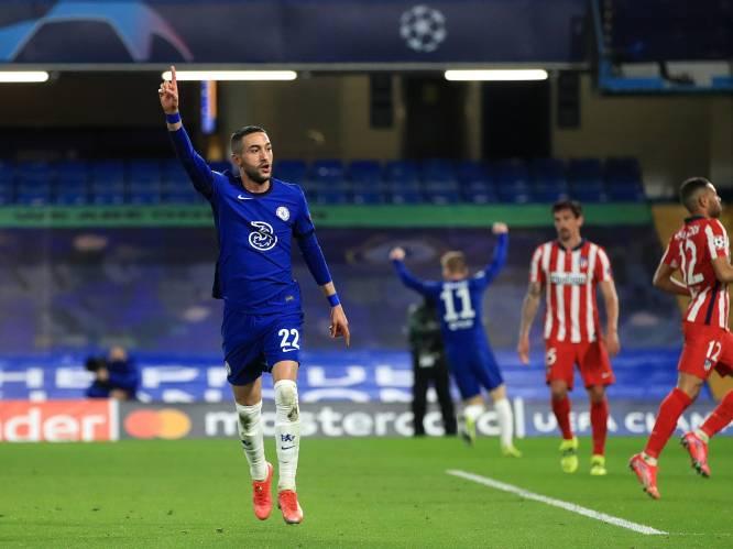 Onmondig Atlético en Carrasco liggen uit de Champions League na nieuw verlies tegen Chelsea