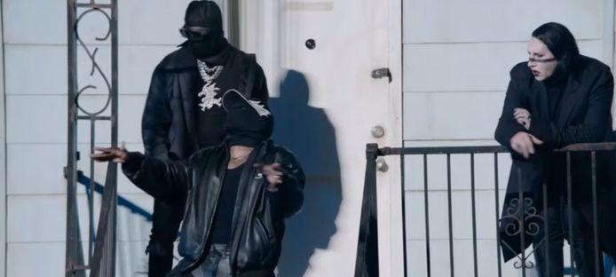 Kanye West, Dababy en Marilyn Manson