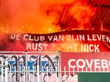 Indrukwekkend eerbetoon supporters De Graafschap aan overleden Nick Groot Bruinderink