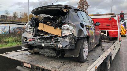 File op Antwerpse Ring richting Nederland door ongeval