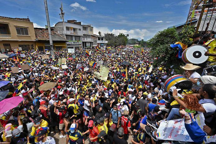 Cali, Colombie (1er mai 2021)