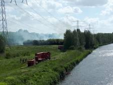 Grote bosbrand Lelystad na ruim vier uur blussen eindelijk onder controle