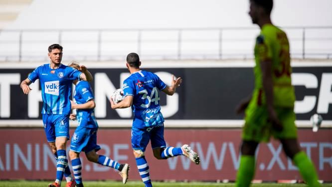 Gent maakt dubbele achterstand ongedaan tegen Malinwa, Defour valt uit met liesblessure