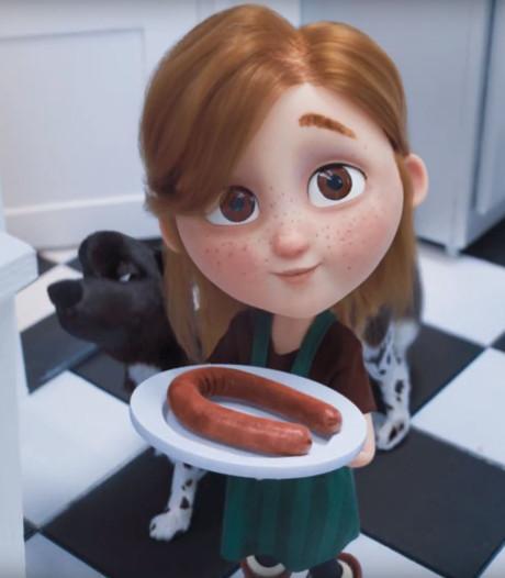 Schattige reclame met vegaworst van Unox ontroert: 'Maar hij is niet te eten'