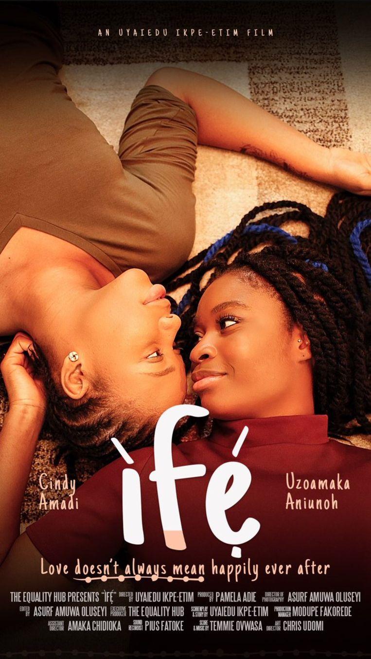 Poster van de speelfilm 'Ifé'. Beeld Ifé
