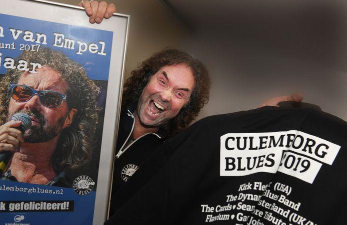 Culemborg John van Empel voorzitter Culemborg Blues.