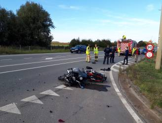 Motorrijder (50) buiten levensgevaar na ongeval op N42