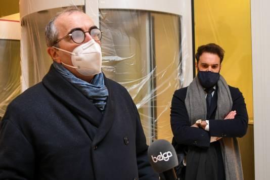 Me Buyle, l'avocat de Pol Heyse, s'est présenté vers 09h00 mercredi matin au palais de justice de Liège. Il s'est dit confiant quant à la libération de son client
