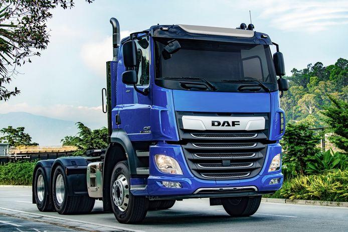 DAF levert 200 trucks voor zwaar transport aan een transportbedrijf in Colombia.