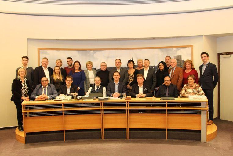 De Boomse gemeenteraad.