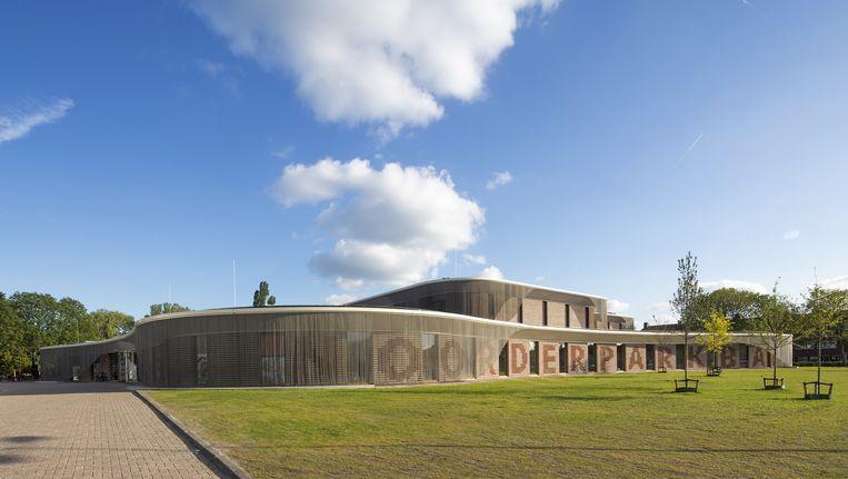 Het Noorderparkbad, de opvolger van het Floraparkbad. foto Beeld Luuk Kramer