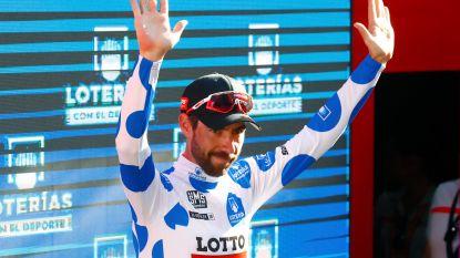 Thomas De Gendt volgt Lucien Van Impe op en is achtste Belg die bergtrui in grote ronde wint