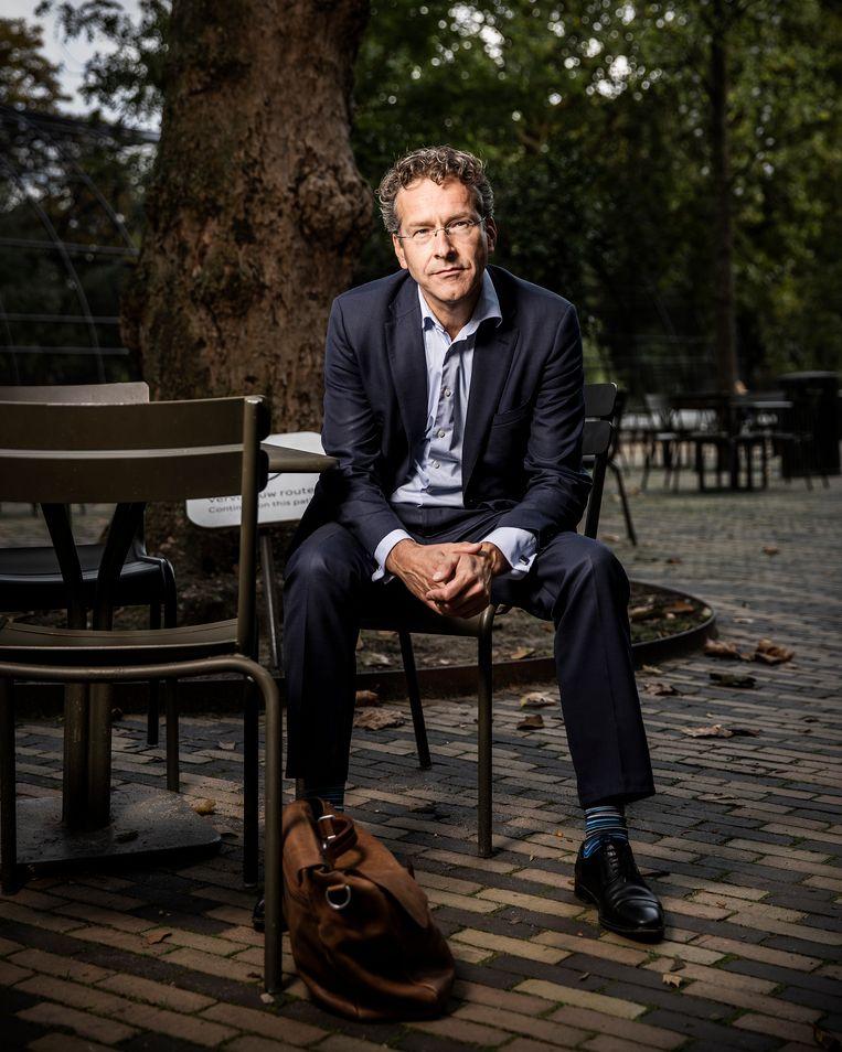 Jeroen Dijsselbloem: 'Als minister van Financiën kreeg ik vaak de vraag: 'Waaraan kunnen we eigenlijk zien dat jij een PvdA'er bent?'' Beeld Jiri Buller