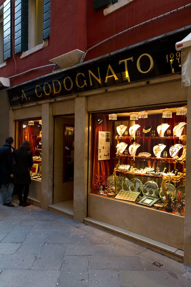 Philippe Starck: 'De enige inspirerende winkel vind ik juwelenhuis Codognato.' Beeld rv