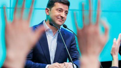 Oekraïne zit zonder premier na toespraak kersvers president Zelenski
